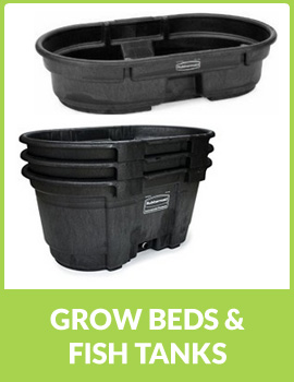 GROW BEDS & FISH TANKS